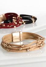 Load image into Gallery viewer, Audrey Suede Multi Strand Bracelet