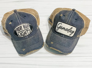 Vintage Distressed Trucker Hat