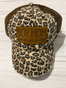 Boy Mom Trucker Cap