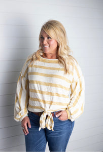 Amelia Striped Top