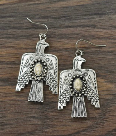 Thunderbird Stone Earrings