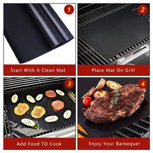 Reusable Magic Grill Mat (3 Pieces) **50% Off TODAY ONLY!! Selling Out Fast!**