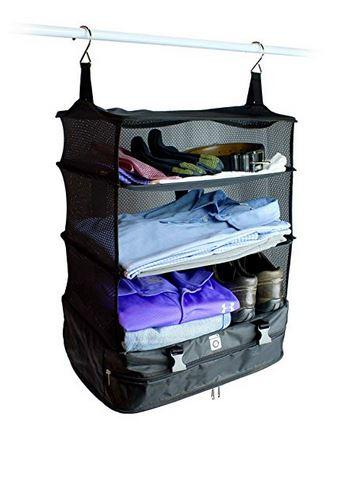 3 Layers Foldable Travel Bag w/ Zip Compartment **50% Off Today ONLY!**