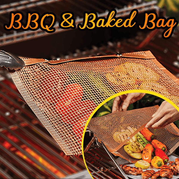 Non-Stick BBQ & Baked Bag **70% Off Today ONLY!**