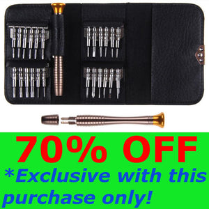 25-IN-1 PRECISION SCREWDRIVER TOOLS SET + CASING (70% OFF One Time Offer!)