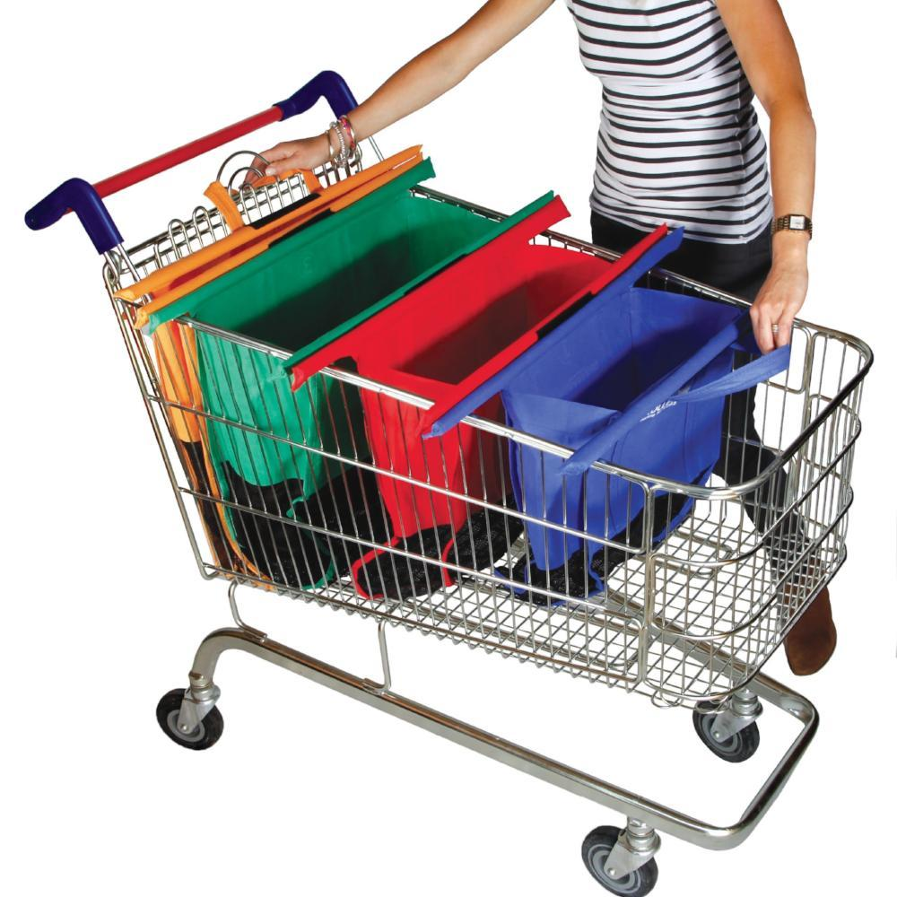 Foldable Shopping Cart Bag