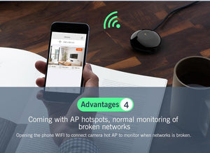 1080P Mini Wireless IP Camera