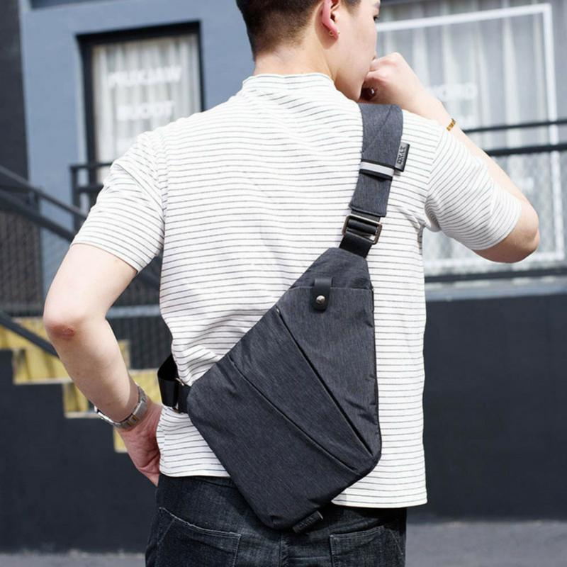 Anti-theft Multi-Compartment Shoulder Bag