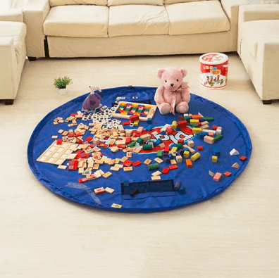 Easy Round Toy Storage Bag