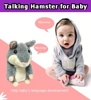 Talking Hamster for Baby **70% Off Today ONLY!**