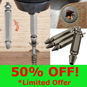 Handy Broken Screw Extractor (For philips, flat, hex, painted over and more!) (50% OFF!)