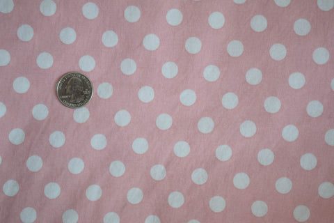 #104 Soft Pink Medium Polka Dot
