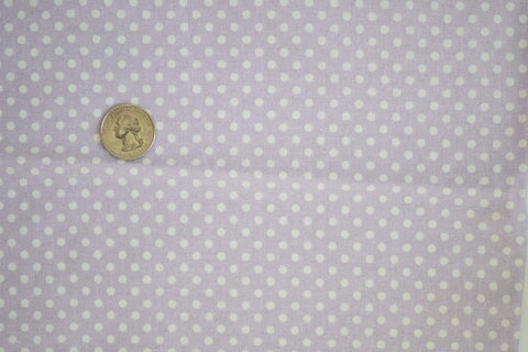 #113 Lavender Small Polka Dot