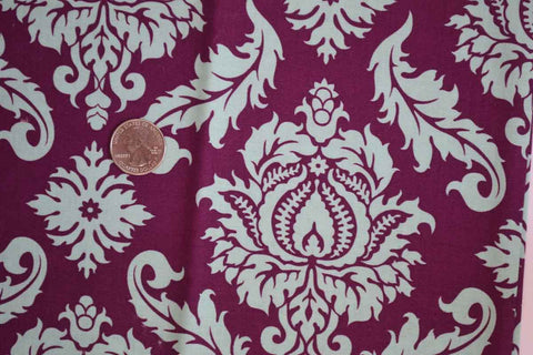 #116 Rose Damask in Purple