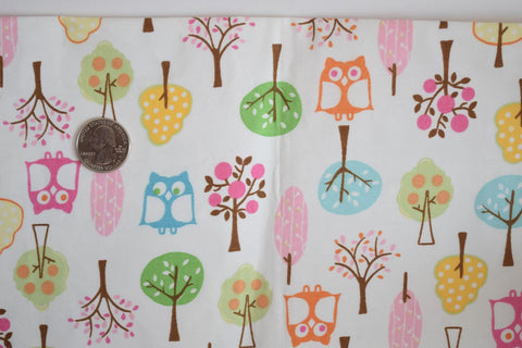 #143 Owls and Trees ORGANIC