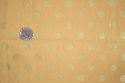 #166 Golden Medium Dots