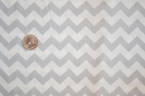#174 Grey Chevron