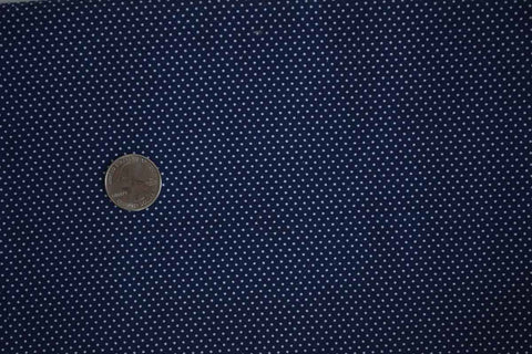 #1 Navy Pin Dot