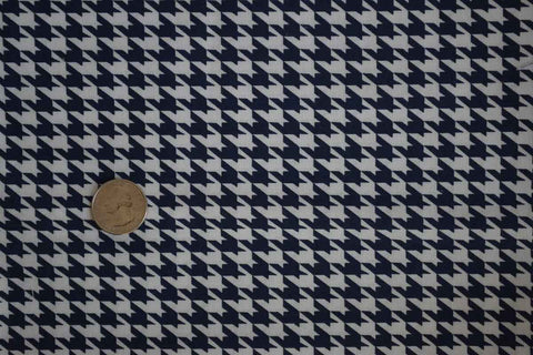 #2 Navy Houndstooth