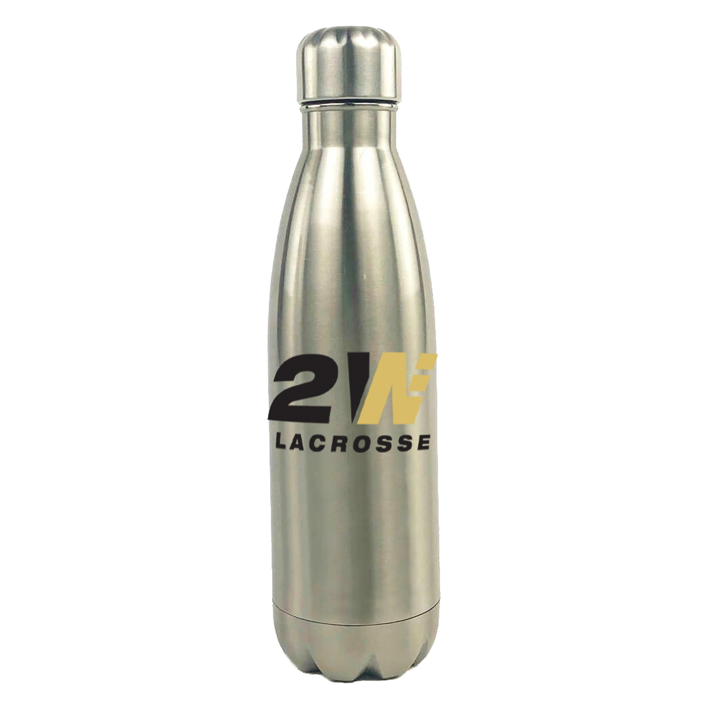 2Way Lacrosse North Stainless Steel Water Bottle