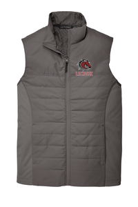 Broncos Lacrosse Men's Graphite Grey Vest