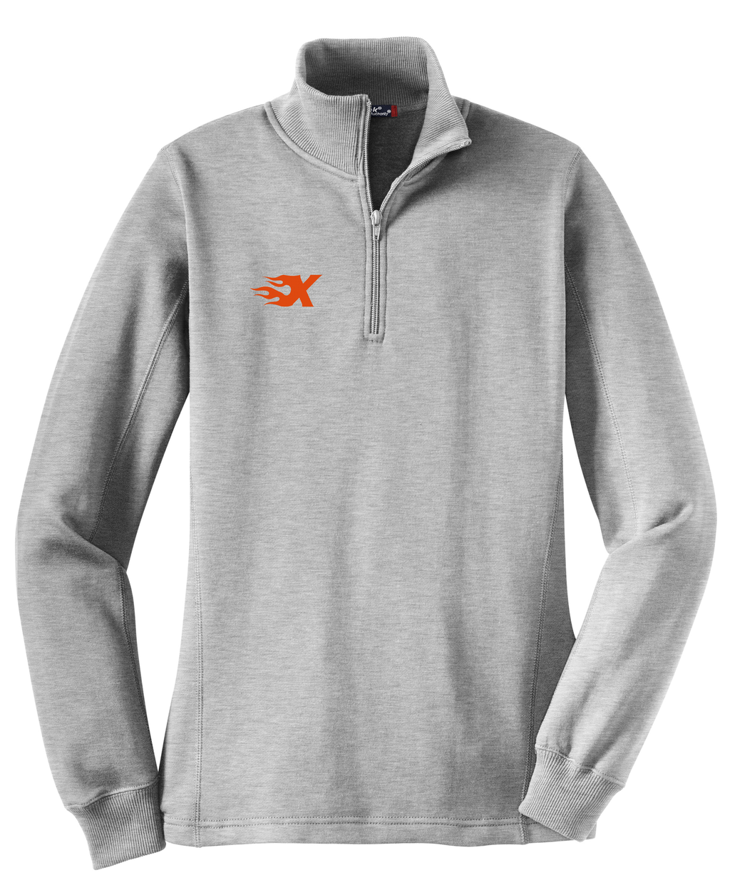Xtreme Lacrosse Athletic Heather Women's 1/4 Zip Fleece