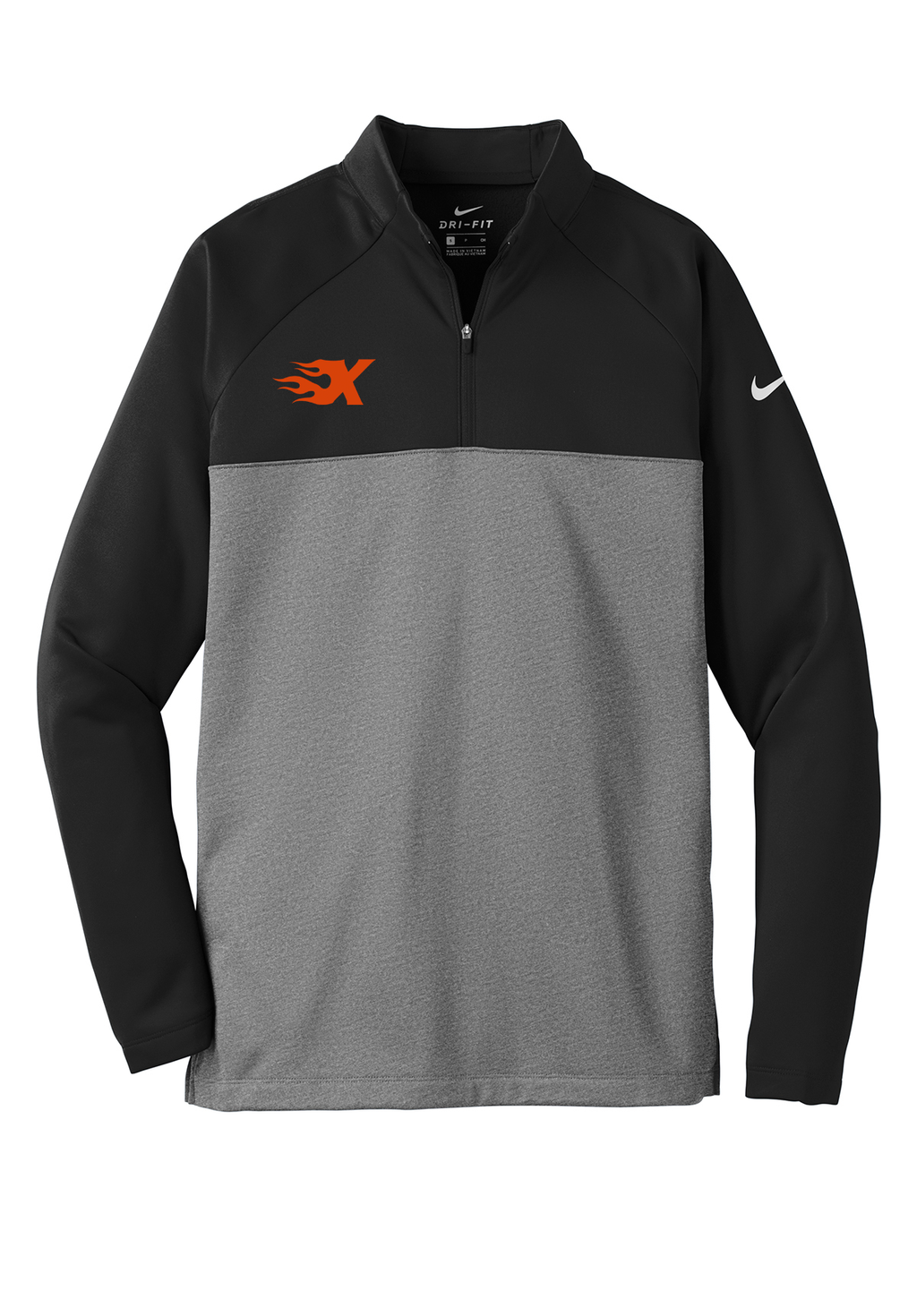 Xtreme Lacrosse Black/Grey Nike Therma-FIT Fleece