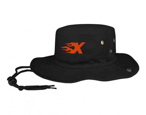 Xtreme Lacrosse Black Bucket Hat
