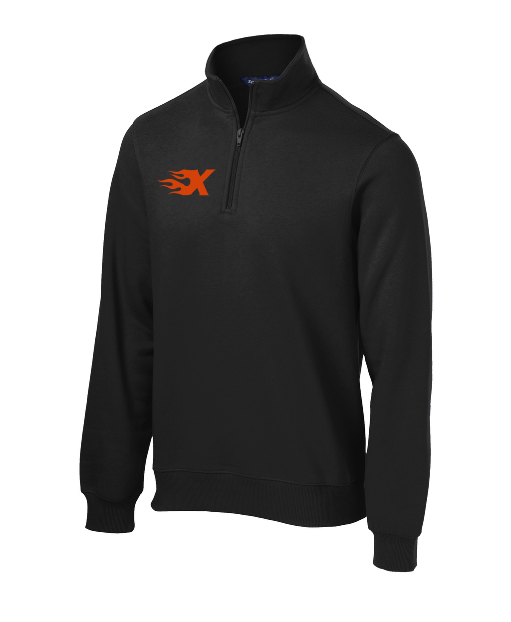 Xtreme Lacrosse Black 1/4 Zip Fleece