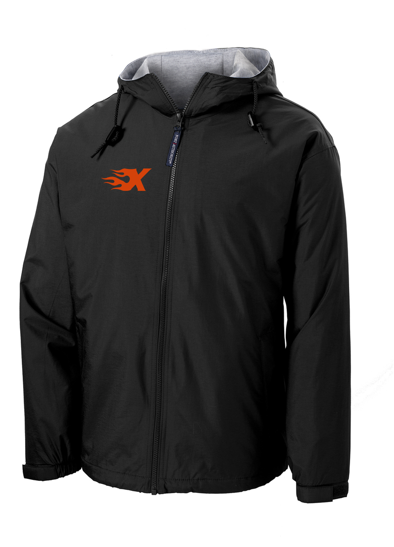 Xtreme Lacrosse Black Hooded Jacket
