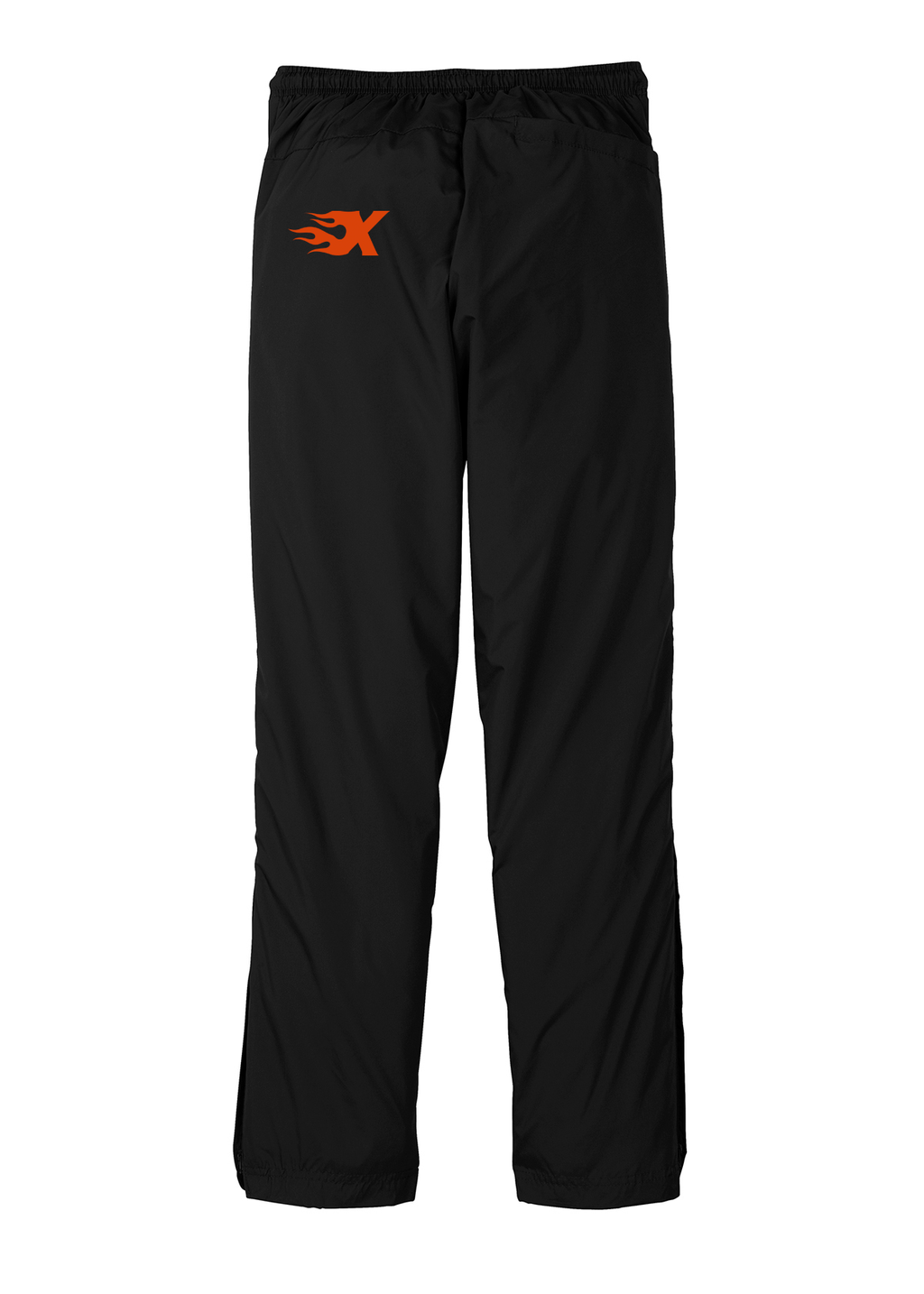 Xtreme Lacrosse Black Rain/Wind Pants