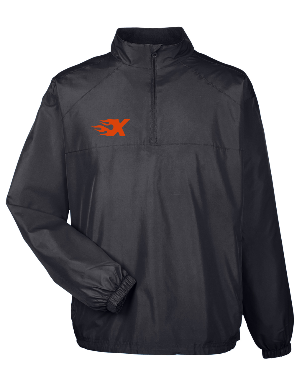 Xtreme Lacrosse Black Windbreaker