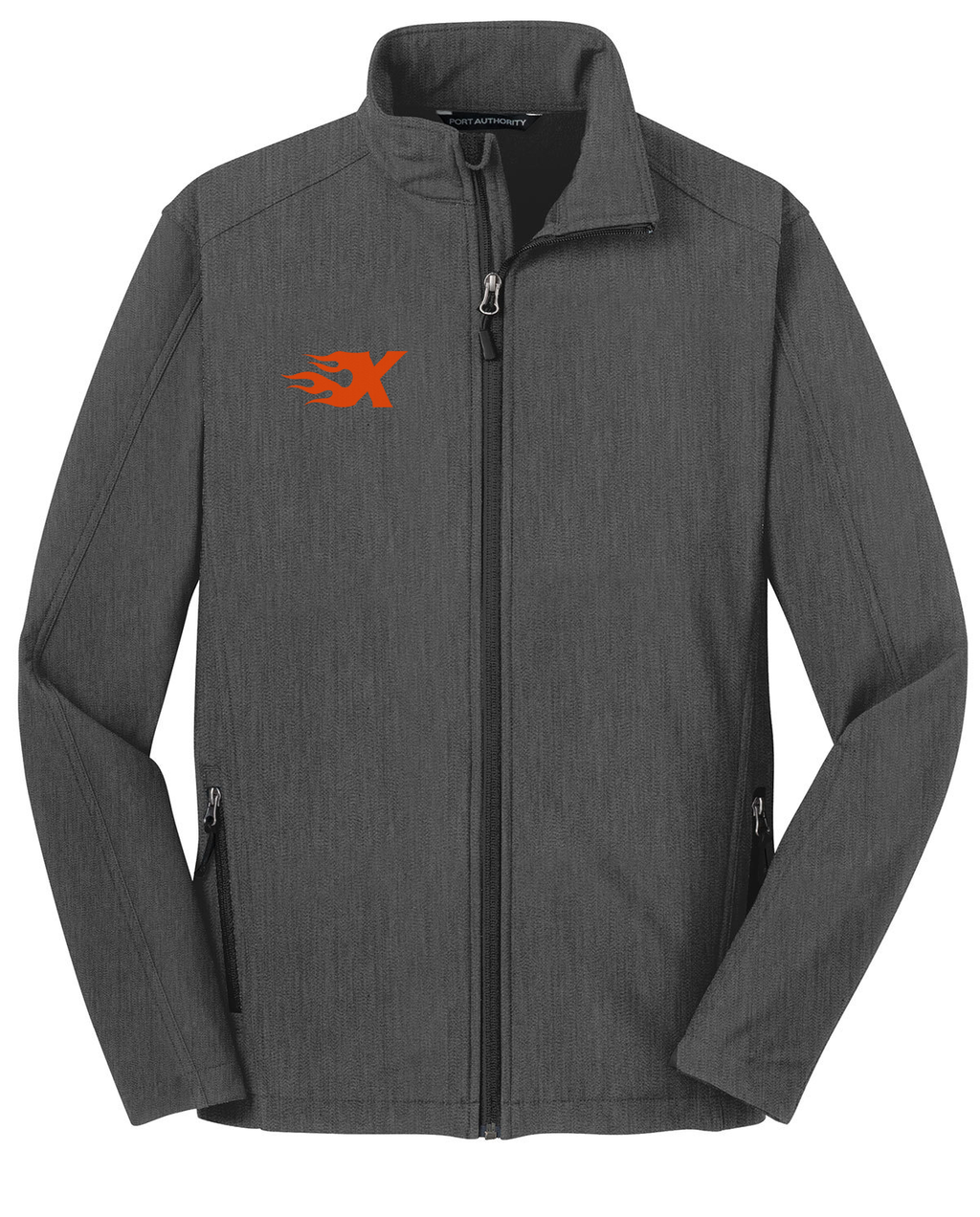 Xtreme Lacrosse Charcoal Soft Shell Jacket