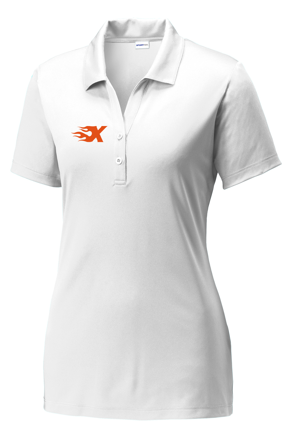 Xtreme Lacrosse Women's White Polo