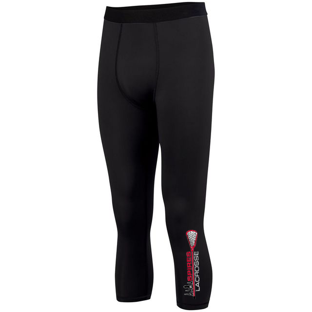 Spires Lacrosse Hyperform Compression Calf-Length Tight