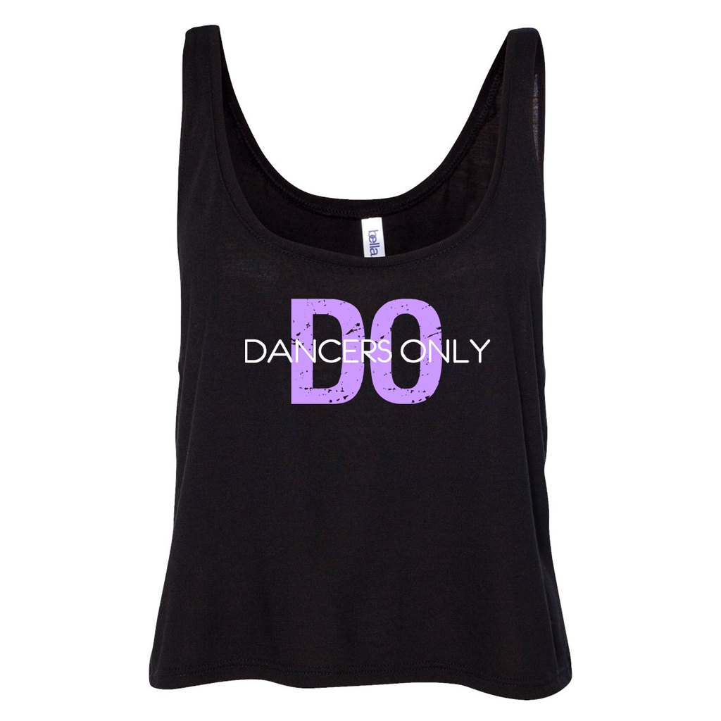 Dancers Only Fit Boxy Tank