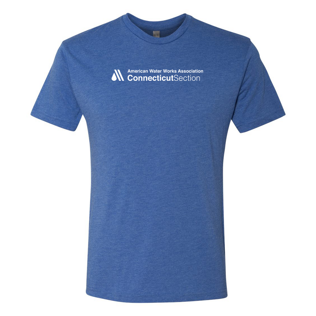 AWWA Connecticut Section Next Level Triblend Short Sleeve Crew