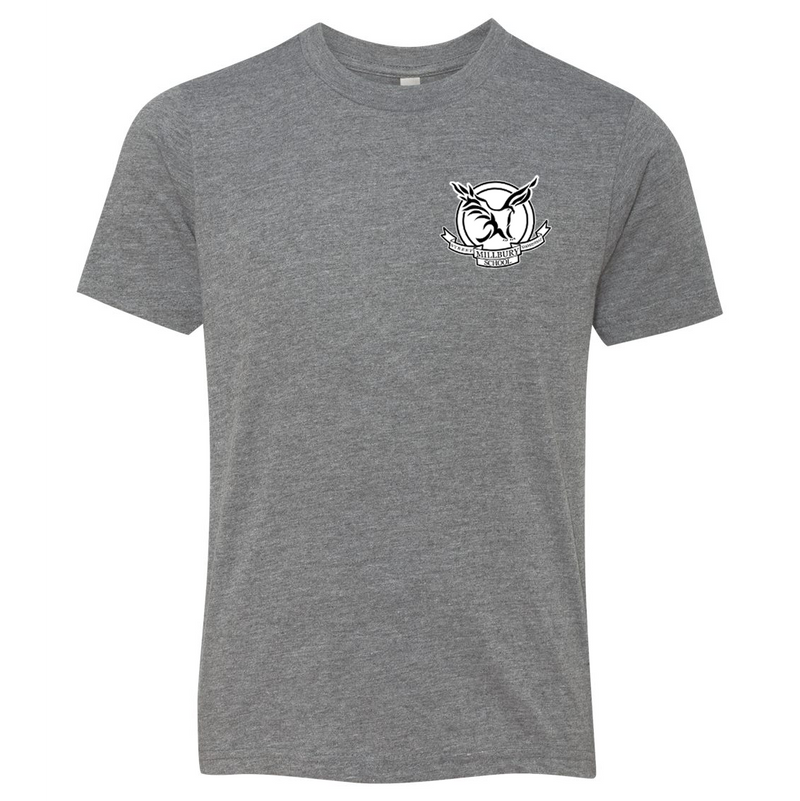 Millbury Street Elementary Next Level Triblend Short Sleeve Crew