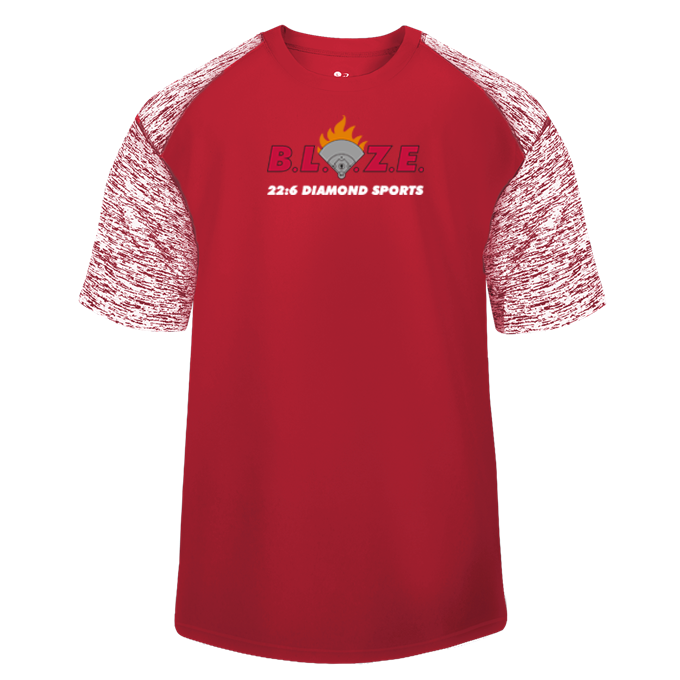 BLAZE 22:6 Diamond Sports Blend Sport Tee