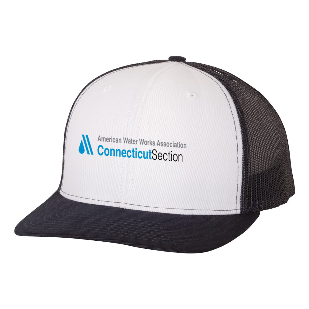 AWWA Connecticut Section Richardson Snapback Trucker Cap