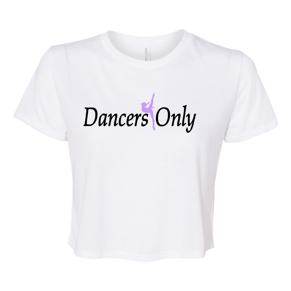 Dancers Only Flowy Cropped T-Shirt