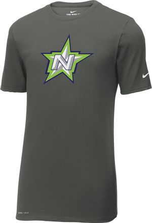 Northstar Baseball Men's Grey Nike Dri-Fit T-Shirt