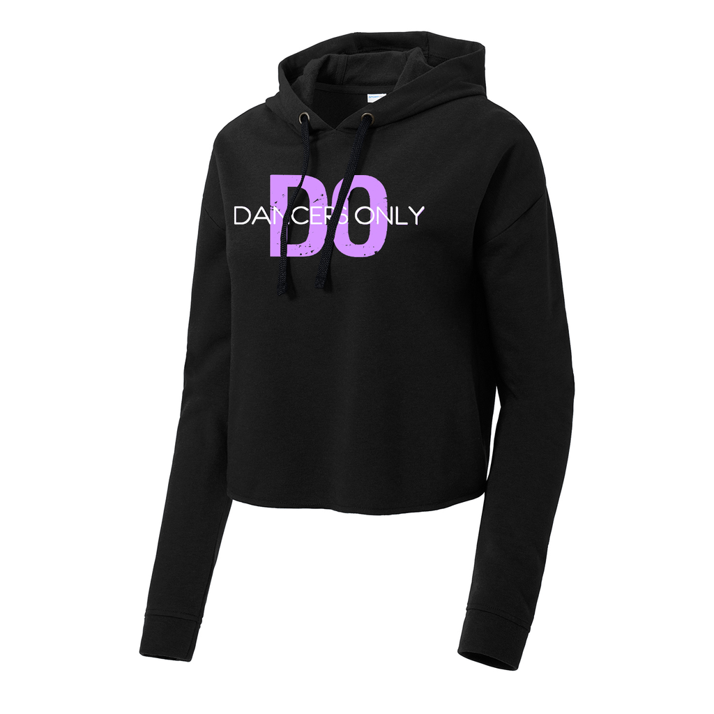 Dancers Only Cropped Sweatshirt