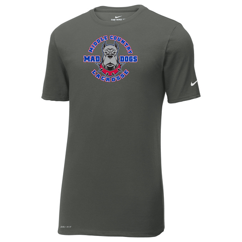Oxford Youth Lacrosse Men's Nike Anthracite Dri-FIT Tee