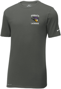 Ephrata Lacrosse Men's Anthracite Nike Dri-FIT Tee