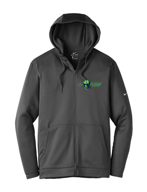 Flatliners Lacrosse Nike Therma-FIT Full Zip Hoodie