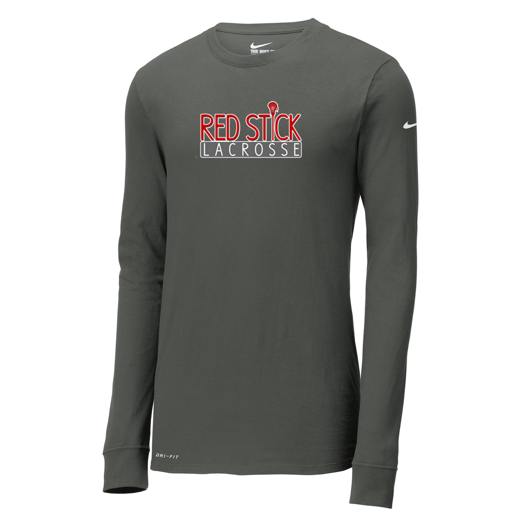 Red Stick Lacrosse Nike Dri-FIT Long Sleeve Tee