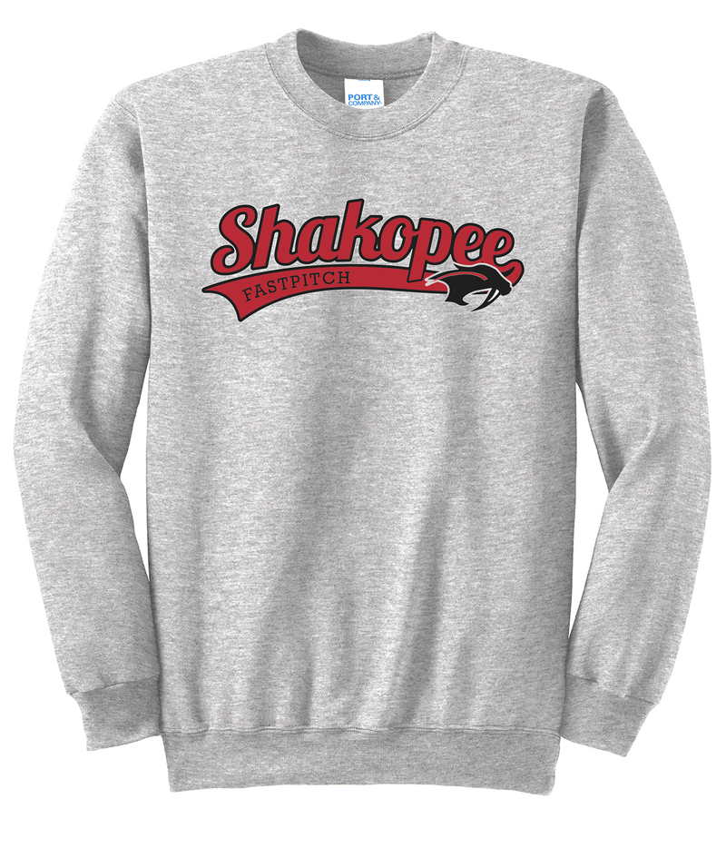 Shakopee Softball Crew Neck Sweater