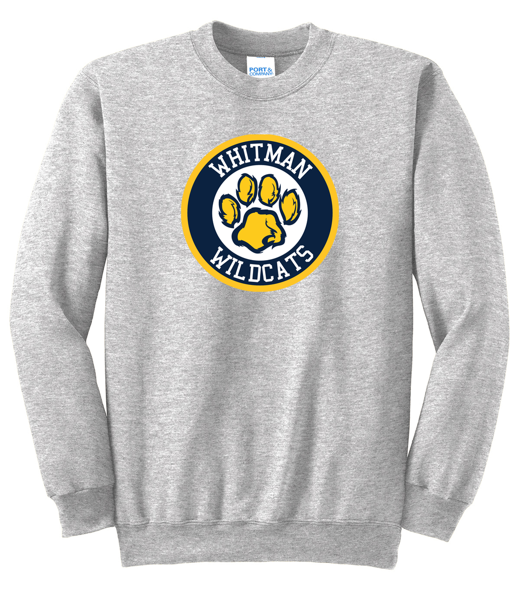 Whitman Wildcats Crew Neck Sweater