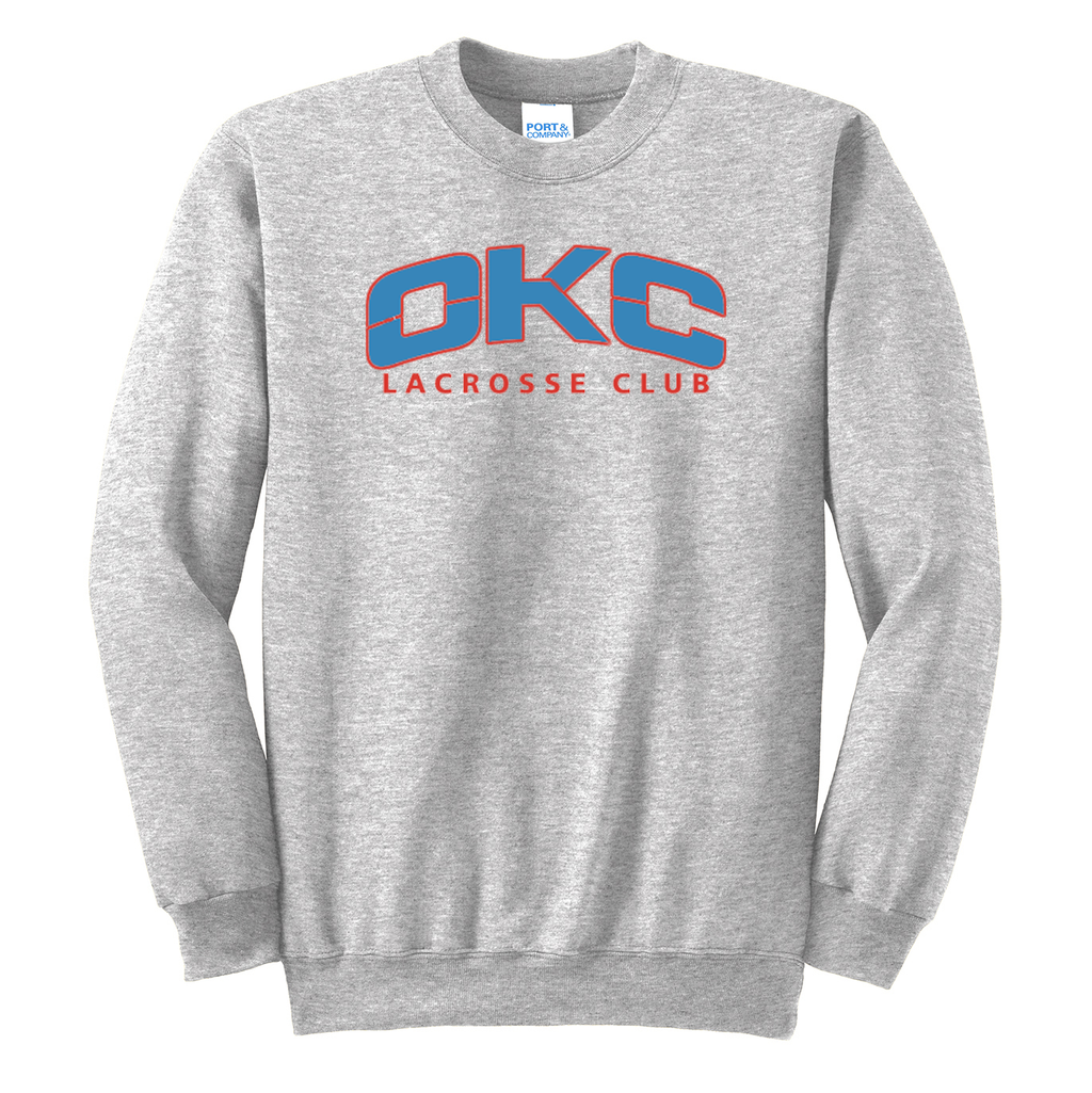 OKC Lacrosse Club Crew Neck Sweater